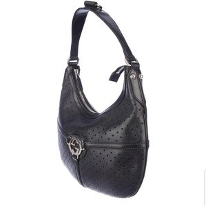 "Gucci perforated leather ""Reins Hobo"""
